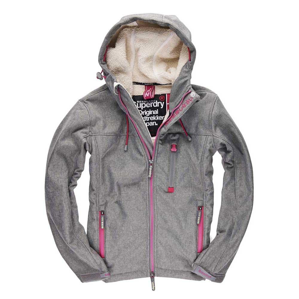 Superdry Hooded Winter Windtreker Grå kjøp og tilbud
