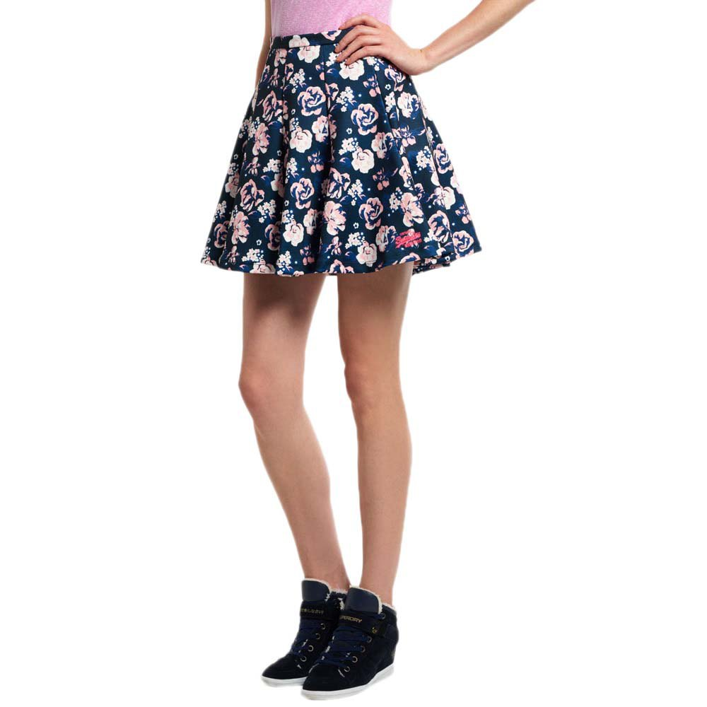 SUPERDRY Scuba Print Skirt