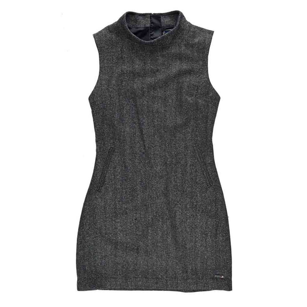 Superdry High Neck Tweed Dress