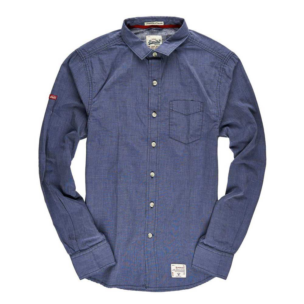 Superdry Laundered Cut Collar L/s Shirt