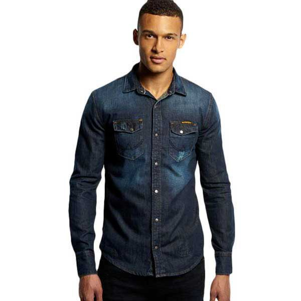 SUPERDRY Forester L/s Shirt