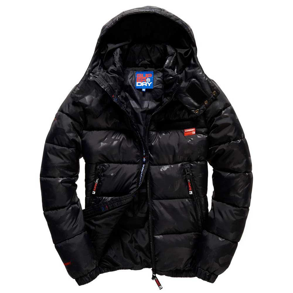 Superdry Tri Racing Camo Puffer