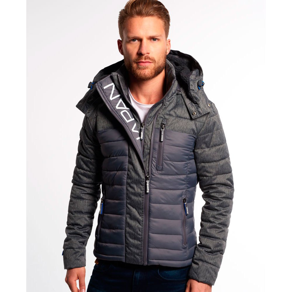 Superdry Fuji Mix Double Zip Hood buy and offers on Dressinn