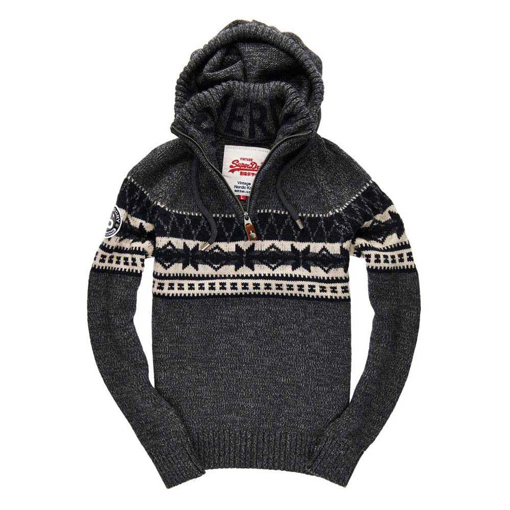 Superdry Malmo Hooded Henley