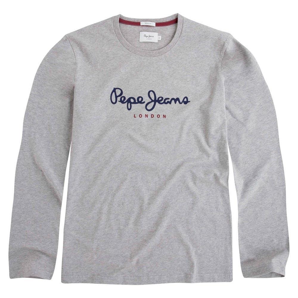 5c7f313db09 Pepe jeans Eggo Long Grey buy and offers on Dressinn