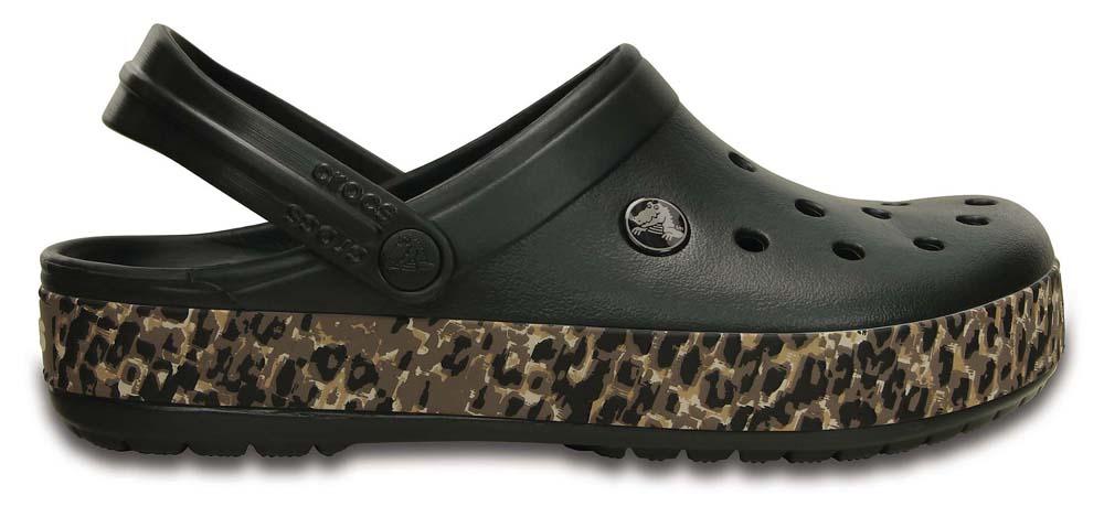 3ef9c7ca77d Crocs Crocband Leopard Clog, Dressinn