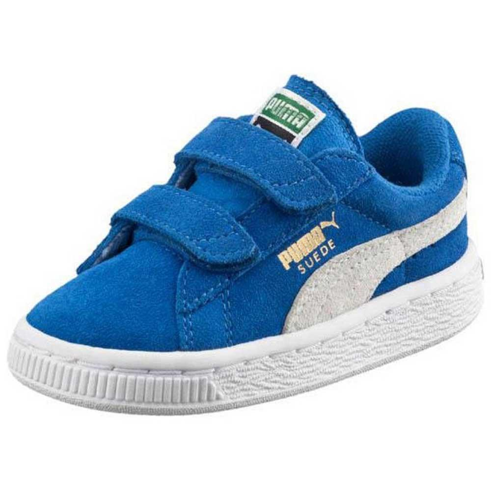 6e3a978523deb Puma Suede 2 Straps Infant Blue buy and offers on Dressinn