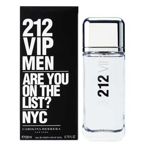 Carolina herrera fragrances 212 Vip Men Eau De Toilette 200ml