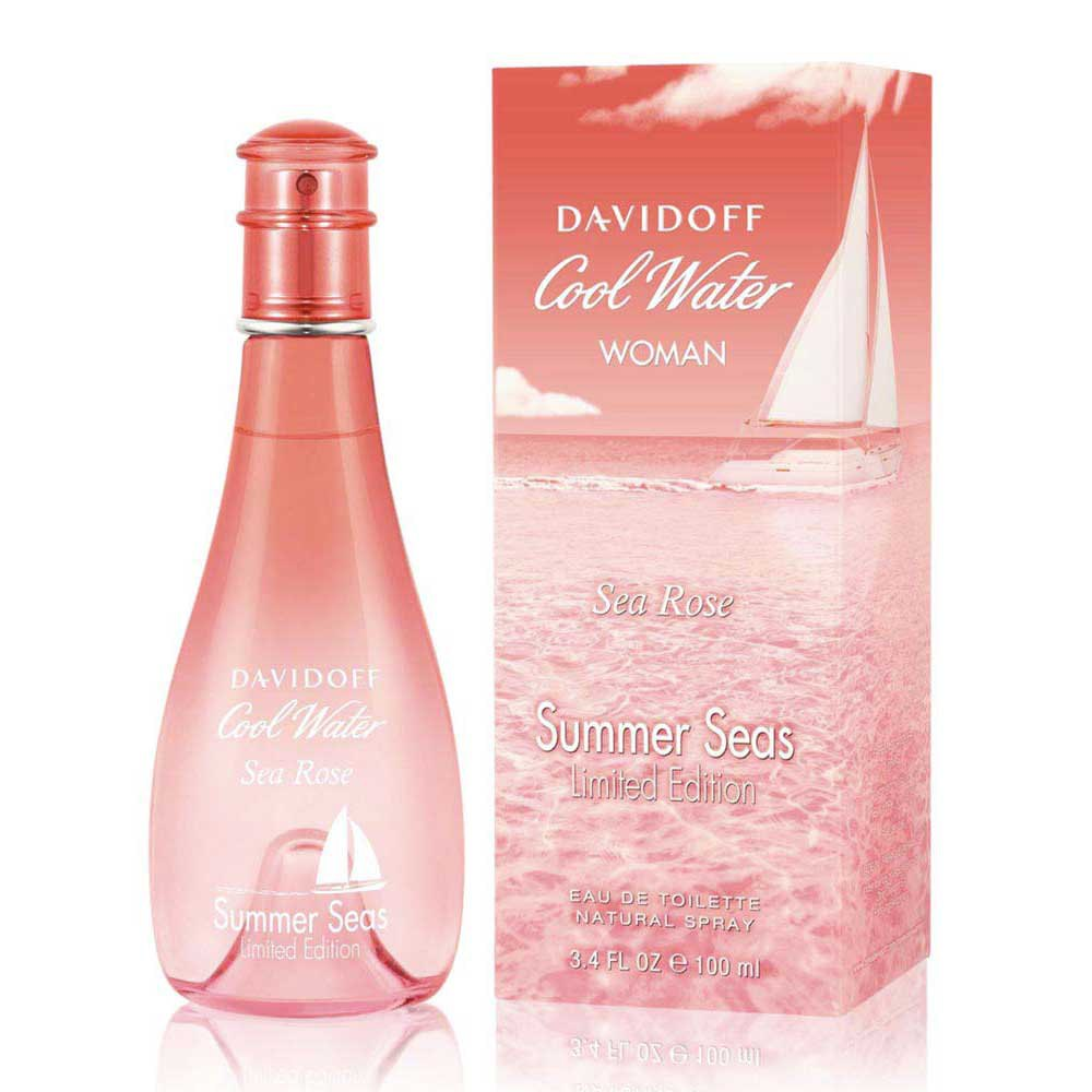 Davidoff fragrances Cool Water Sea Rose Summer Seas Eau De Toilette 100ml