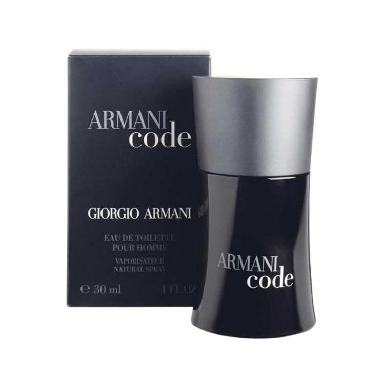 Giorgio armani Black Code Men Eau De Toilette 30 ml