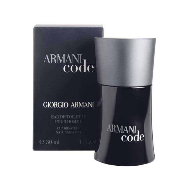 Giorgio Armani Fragrances Armani Code Edt 30ml Black Dressinn