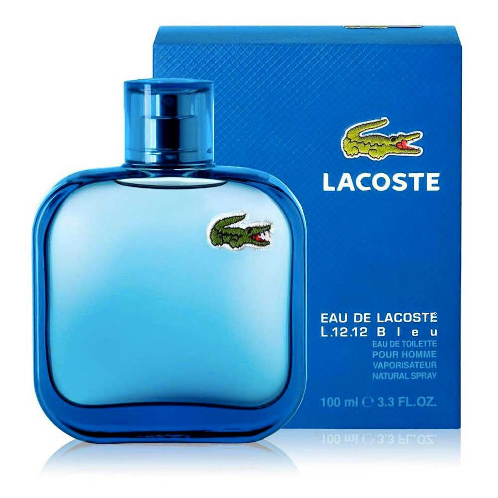 202cfa82bca2b Lacoste fragrances Eau L.12.12 Bleu Men Eau De Toilette 100ml ...