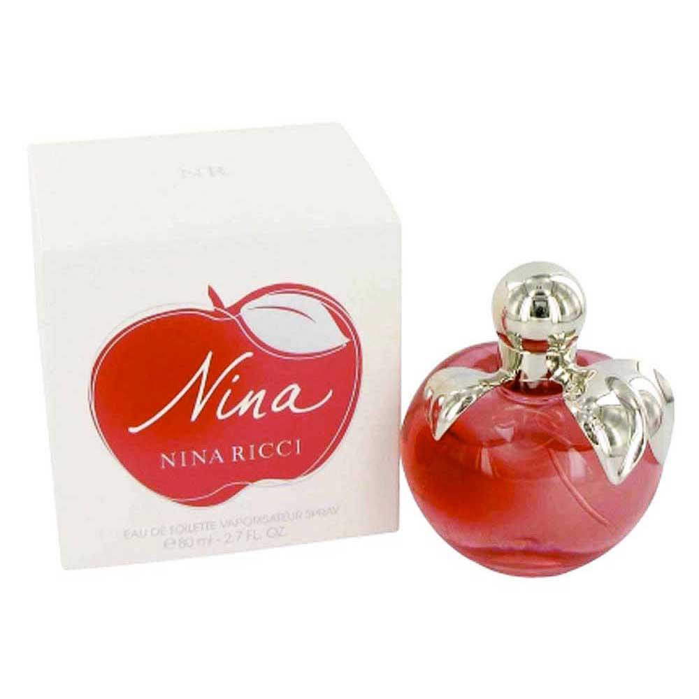 Perfumes femininos Nina-ricci-fragrances Eau De Toilette 80ml