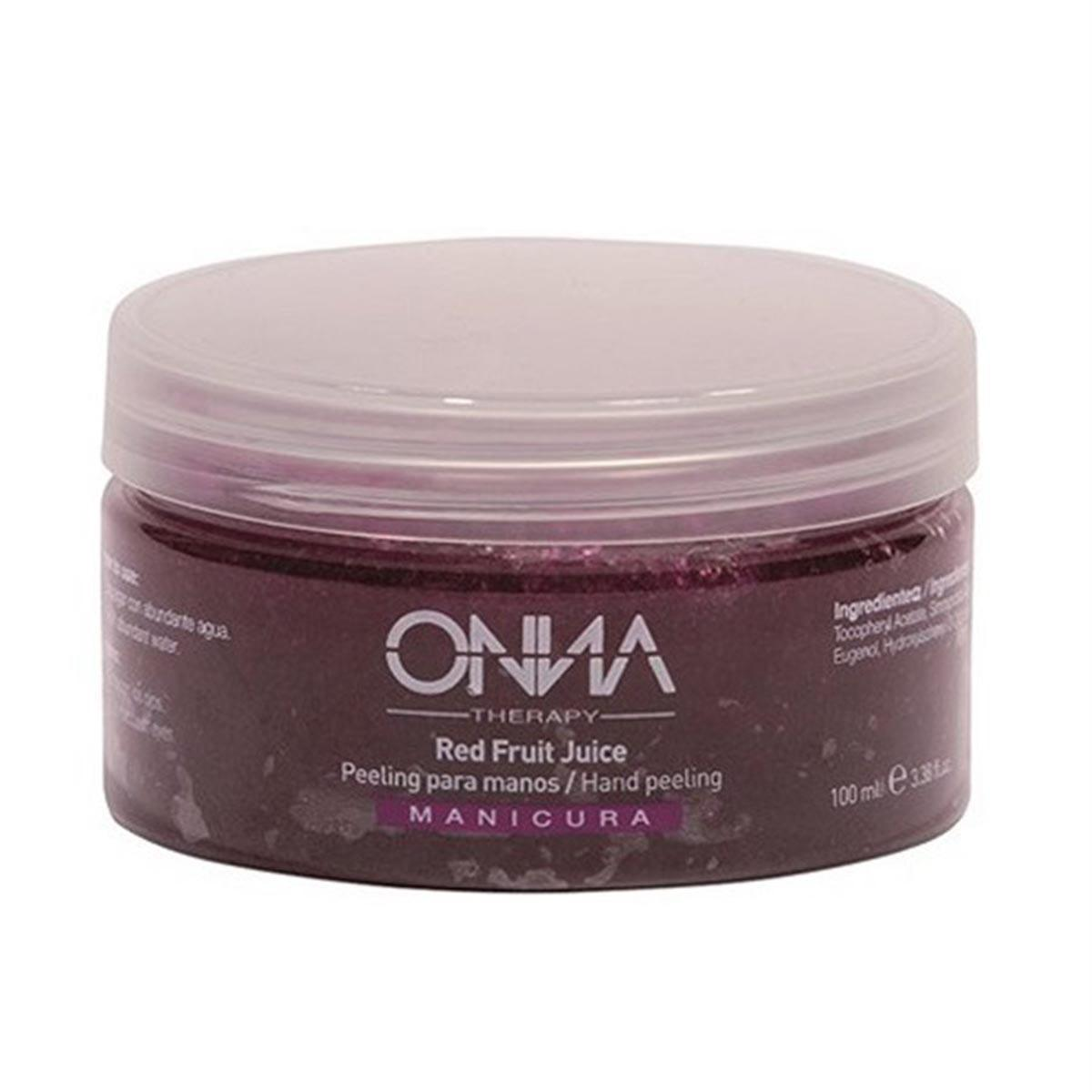 Onna therapy Red Fruit Juice Peeling Hands 100 ml