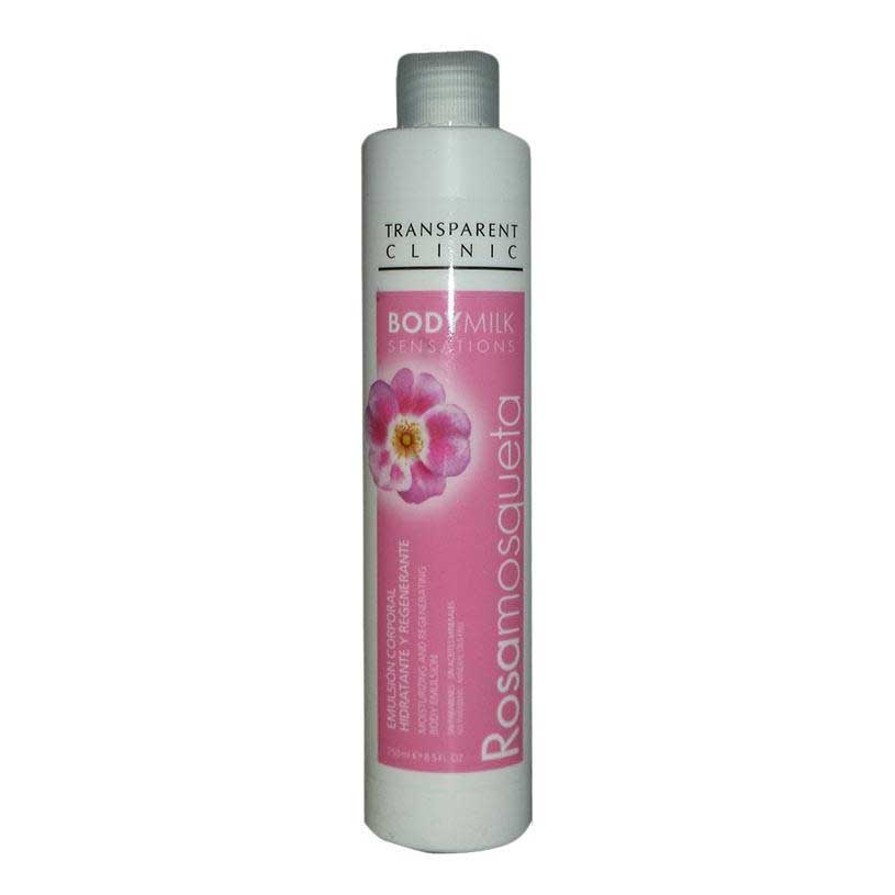 Transclini Body Milk Rosa Mosqueta 250 ml