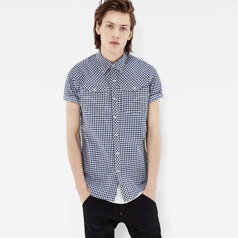 d1e9230a2ab433 Gstar Arc 3D Shirt S/S Blau anfugen und sonderangebote, Dressinn