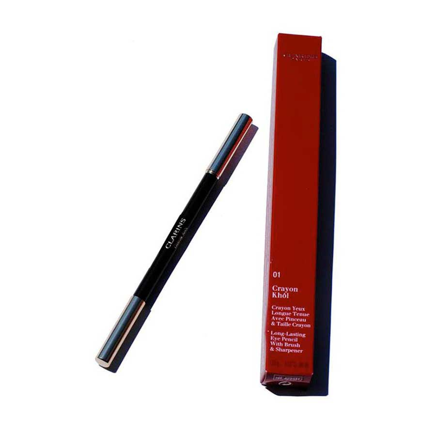 f175daad1bc Clarins fragrances Crayon Khol 01 Carbon Black Black, Dressinn