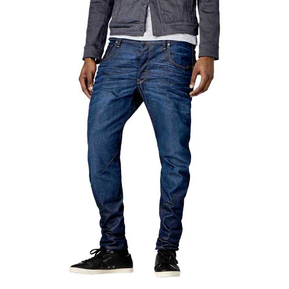 G-Star Men/'s Shirt Arc 3d L//S Slim Navy Blue M