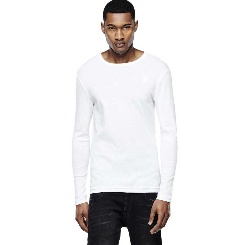 Gstar Basic Round Neck L/S T Shirt 1 Pack