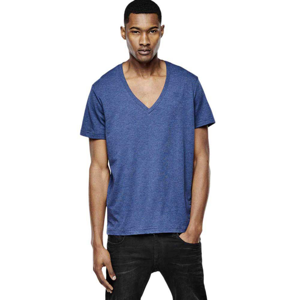 Gstar Basic Heather V Neck T Shirt 2Pack