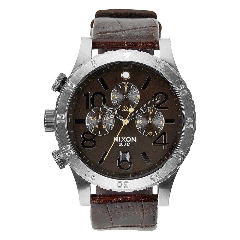 Nixon 48 20 Chrono Leather