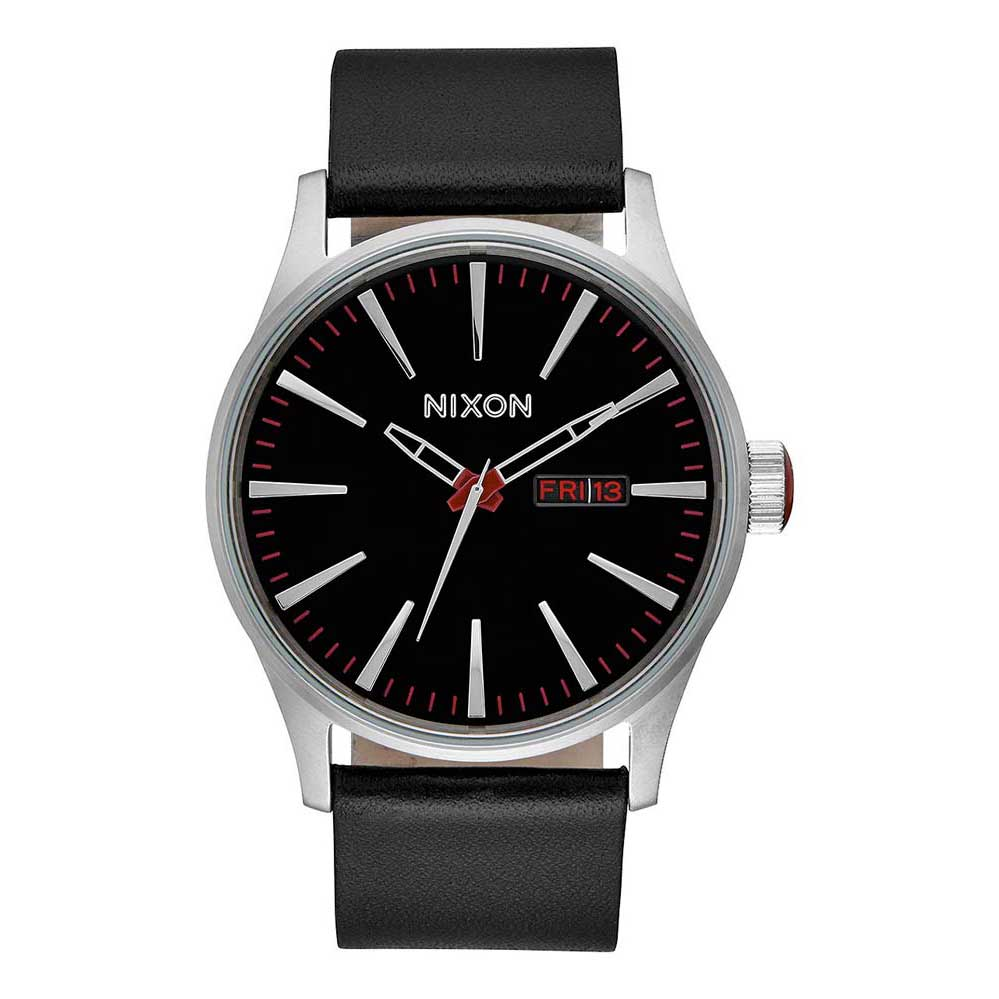 Relógios Nixon Sentry Leather One Size Black