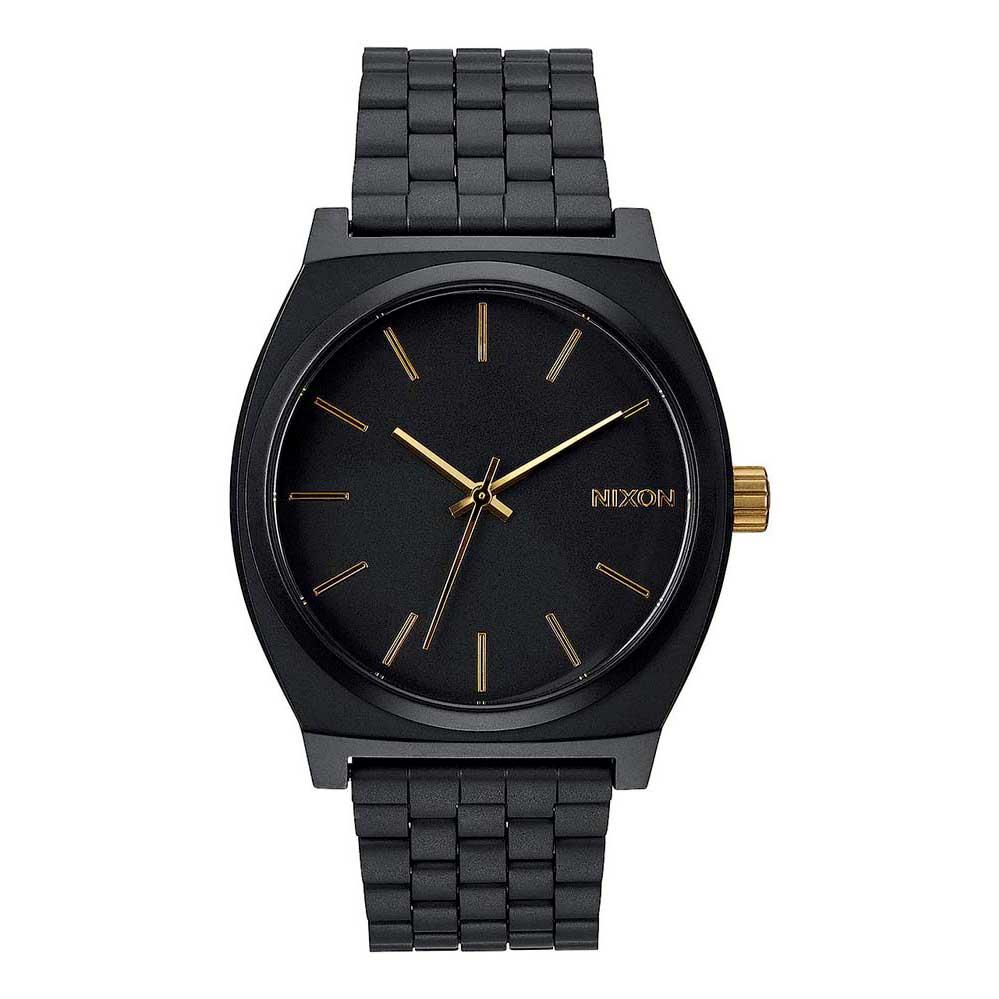 Relógios Nixon Time Teller One Size Matte Black / Gold
