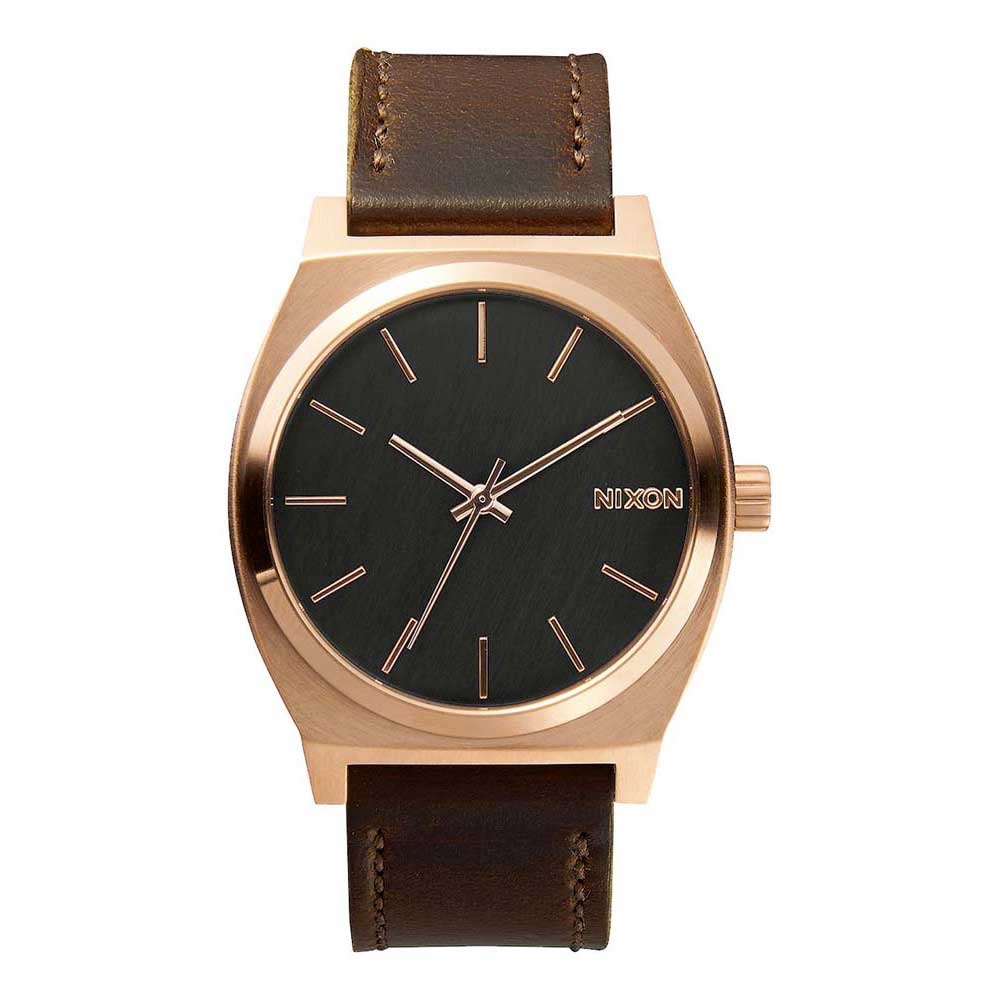 Relógios Nixon Time Teller One Size Rose Gold / Gunmetal / Brown