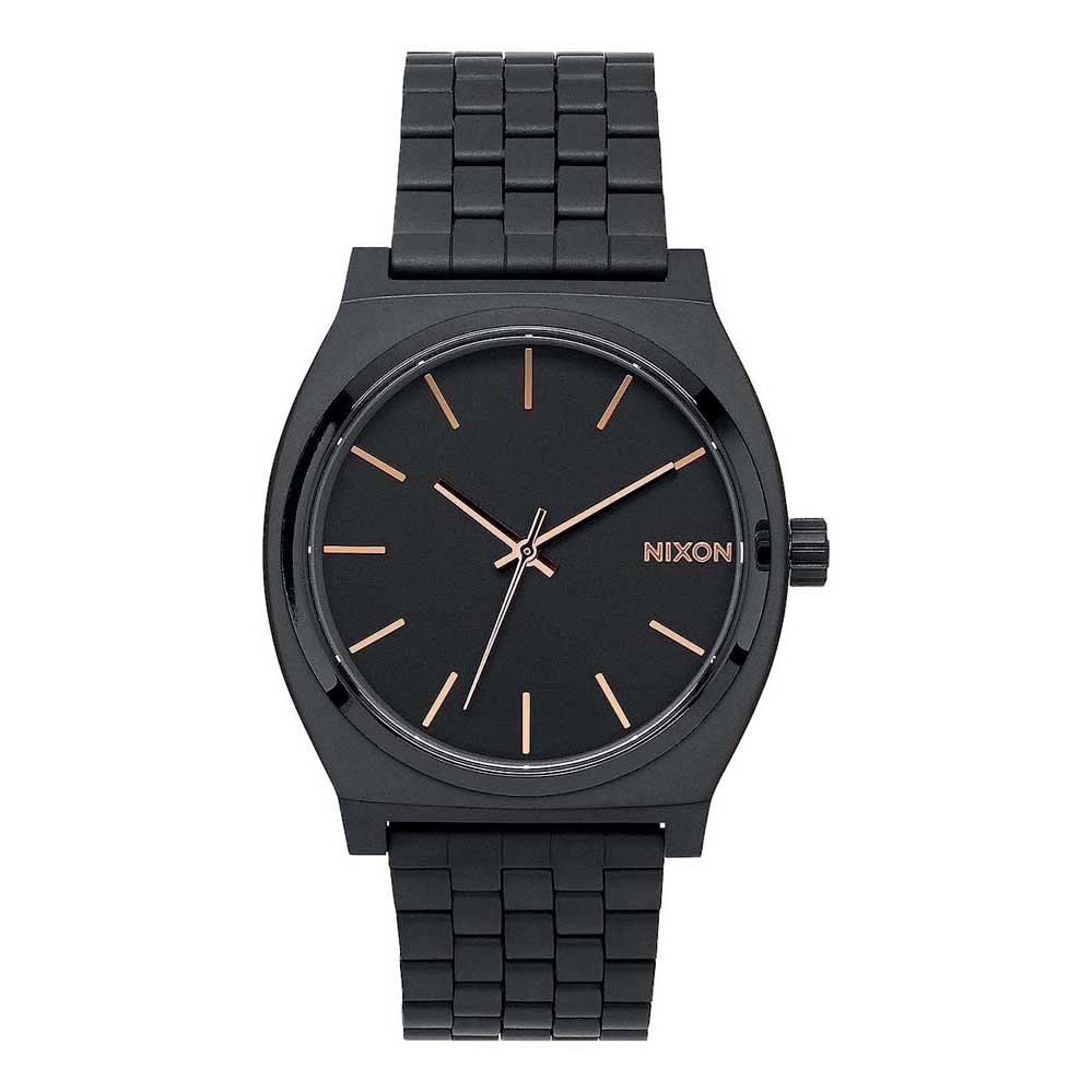 Relógios Nixon Time Teller One Size All Black / Rose Gold