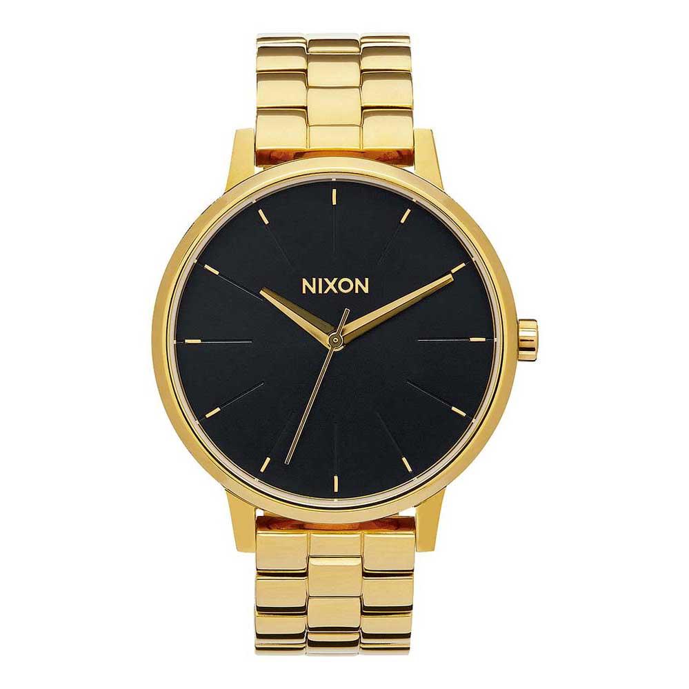 Relógios Nixon Kensington One Size All Gold / Black Sunray