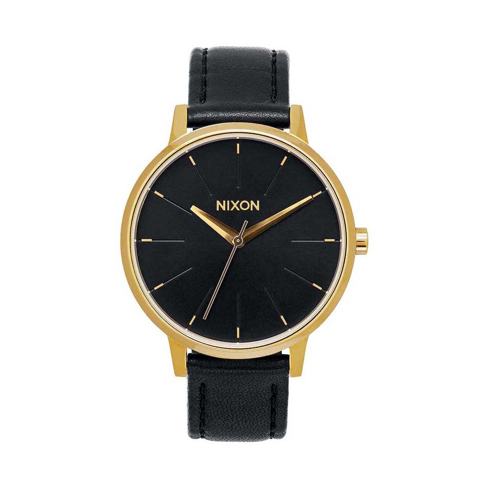 Relógios Nixon Kensington Leather One Size Gold / Black
