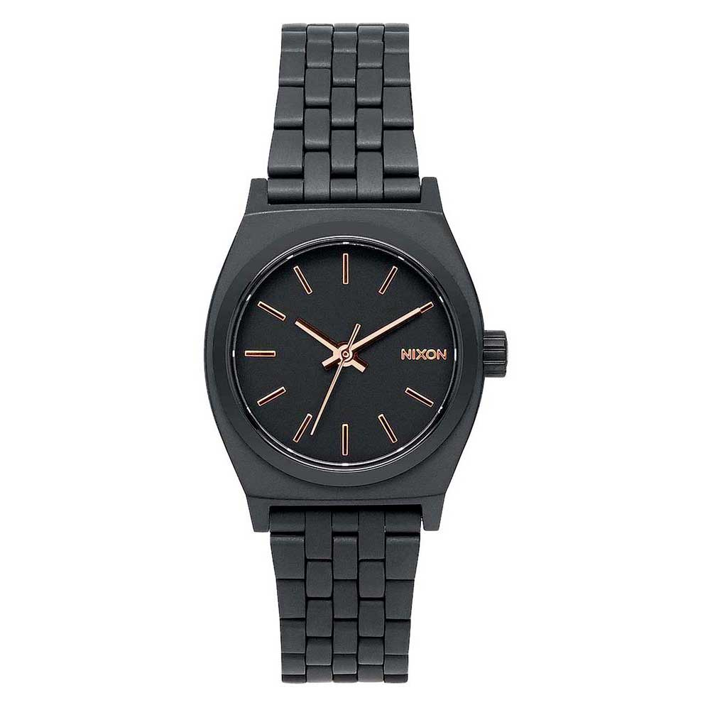 Relógios Nixon Small Time Teller One Size All Black / Rose Gold