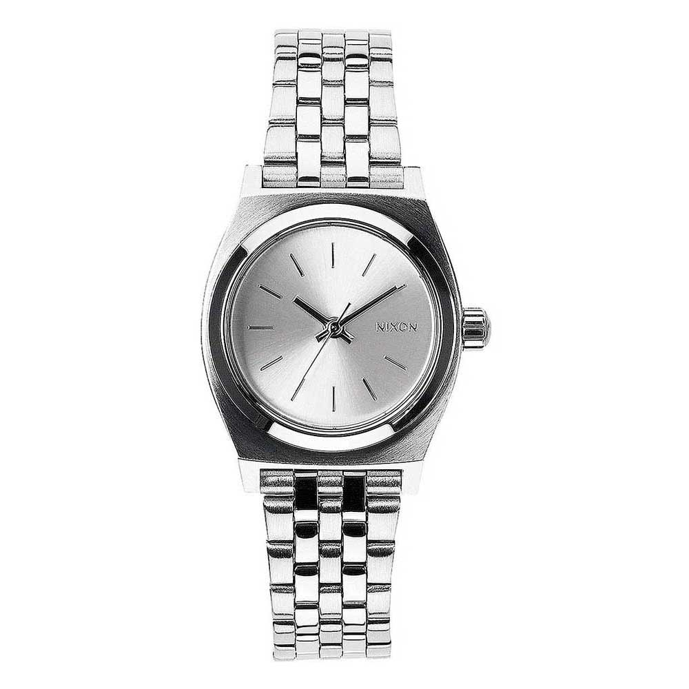Relógios Nixon Small Time Teller One Size All Silver