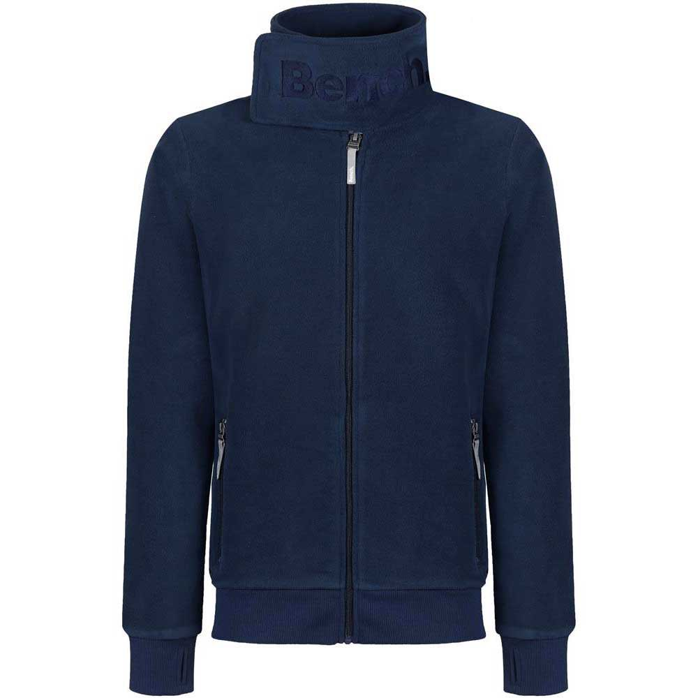 Bench Core Funnel Fleece C Zip Thru Funnel Neck
