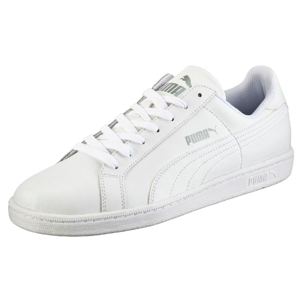 Puma Smash L White buy and offers on Dressinn ff630f0d4