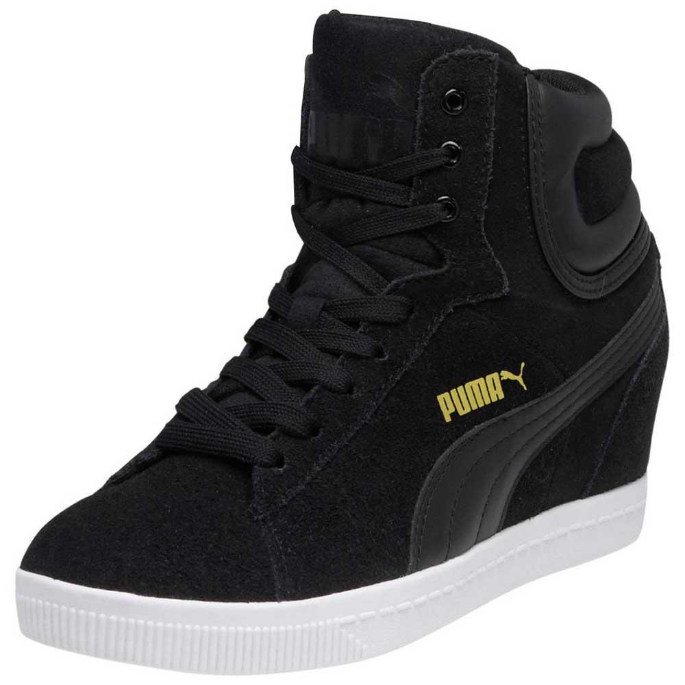 puma wedge noir