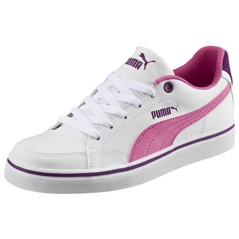 98fdfa2aa7e Puma Court Pt New Vulc SL Junior White