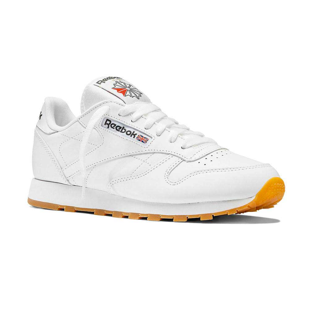 Sneakers Reebok-classics Classic Leather EU 34 1/2 White / Gum 2
