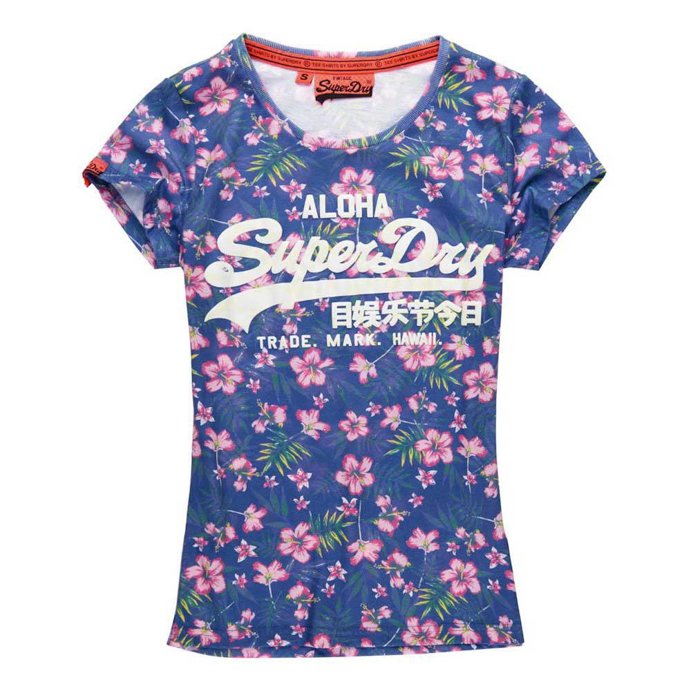 Superdry Vintage Logo Tropical Aop Tee