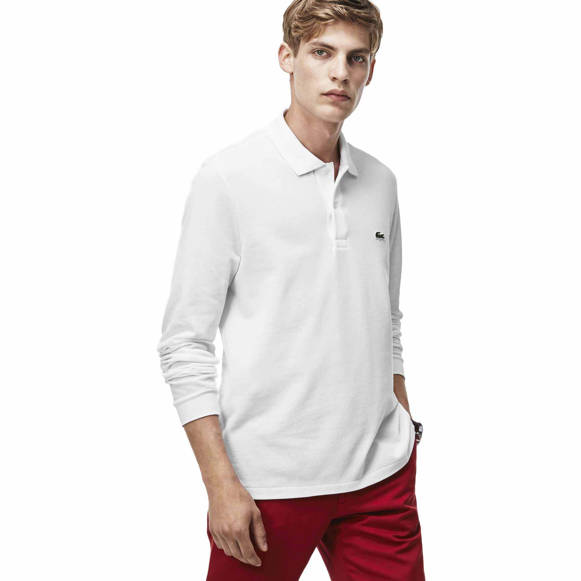 849c3a37 Lacoste L1312 Best Polo L/S White buy and offers on Dressinn
