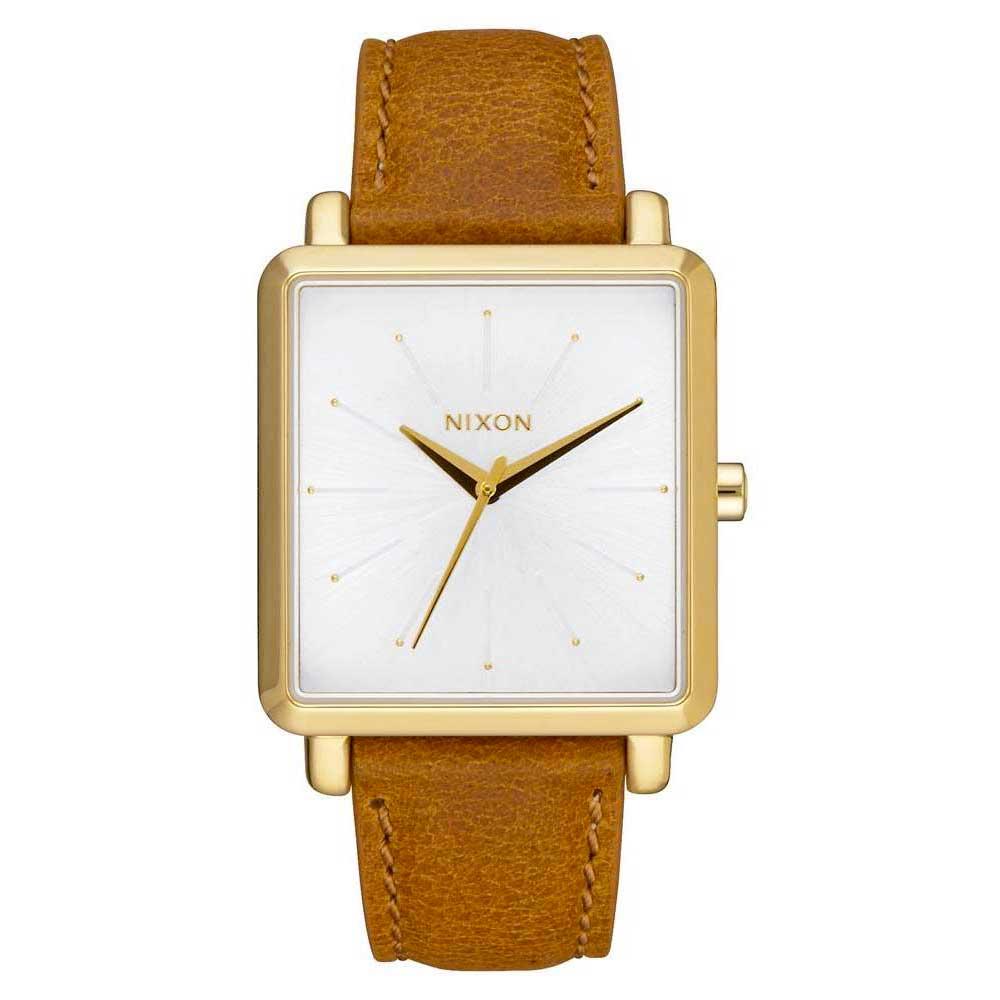 Relógios Nixon K Squared One Size Gold / Saddle