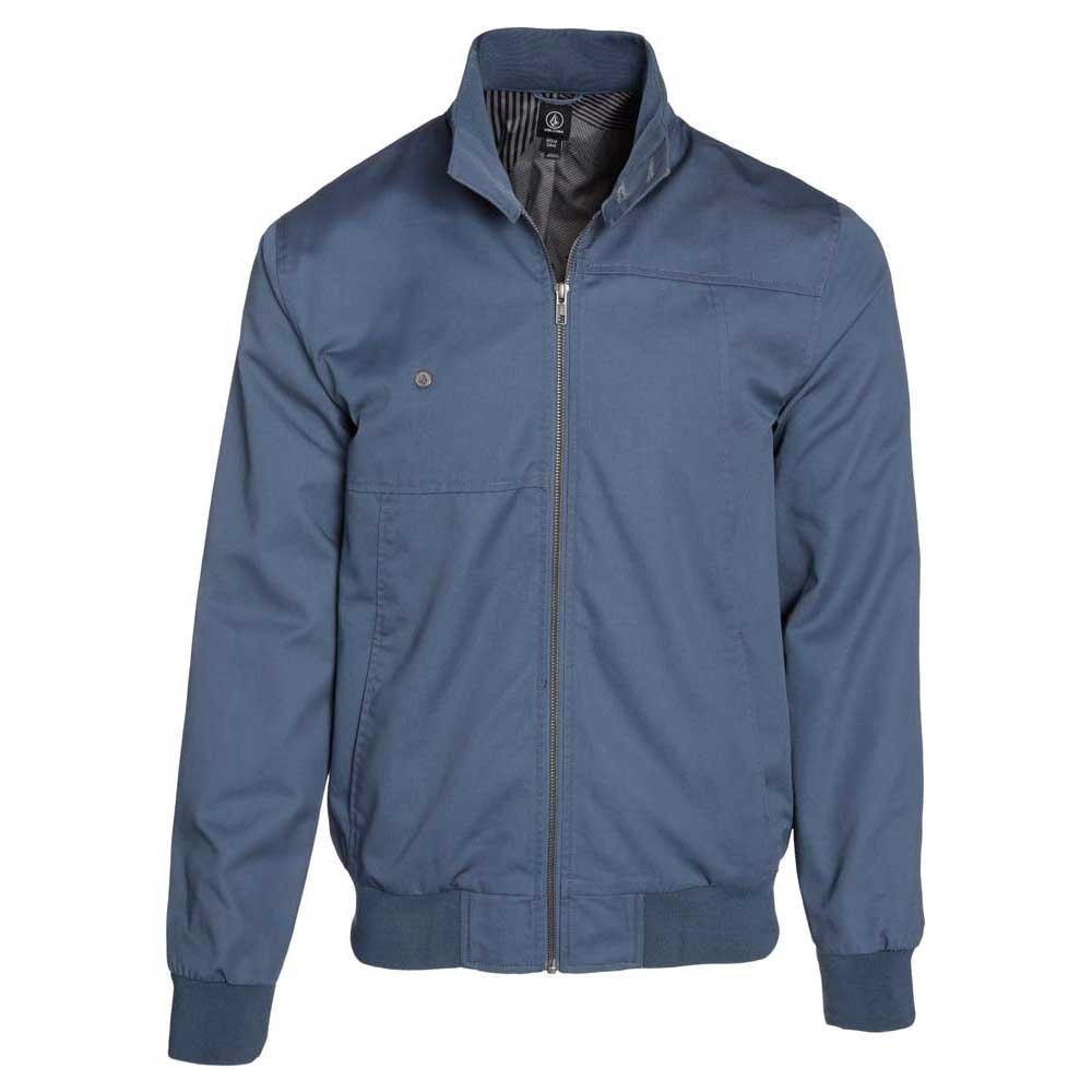 Volcom Hoxton Ii Jacket Blå kjøp og tilbud, Dressinn