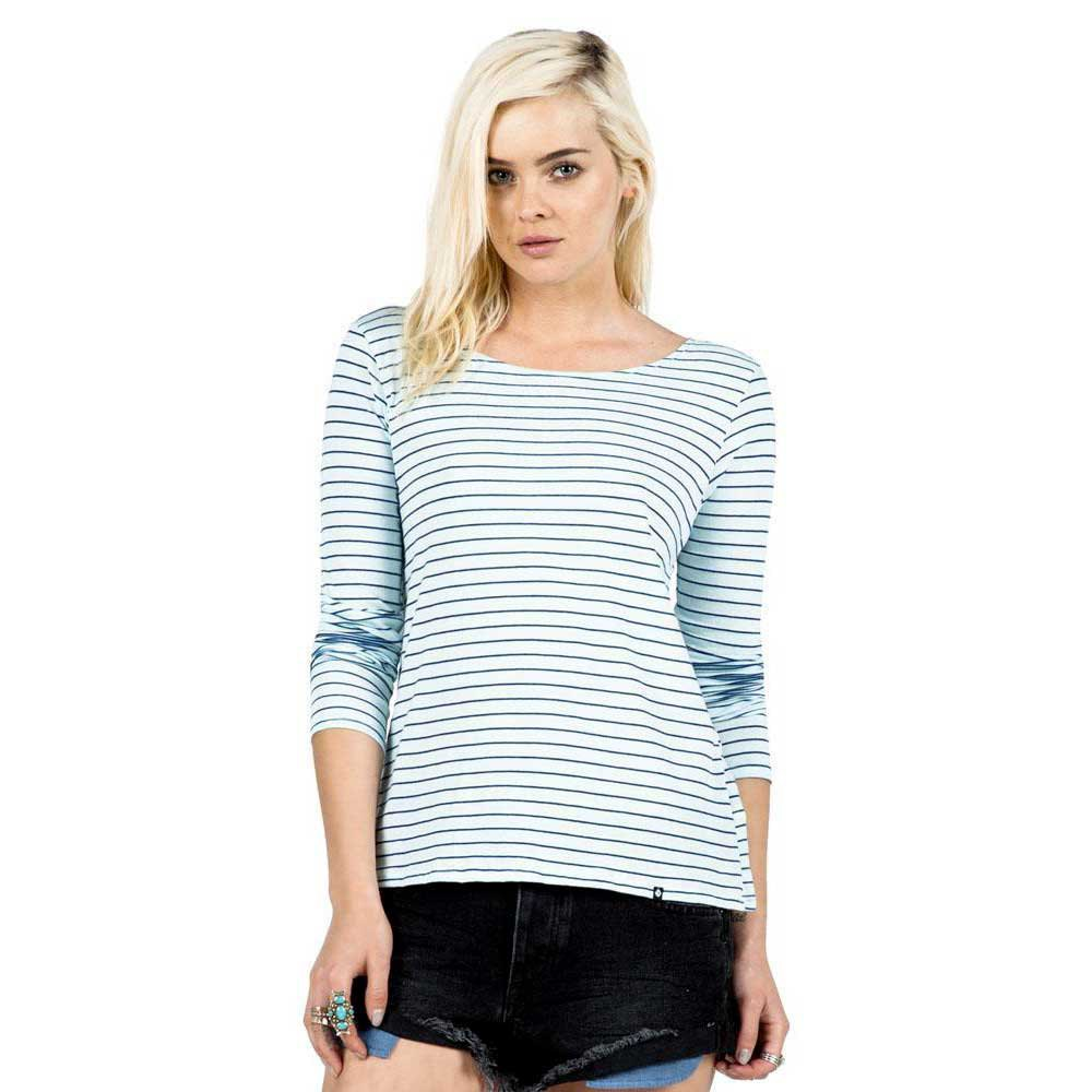 Volcom Lived In Stripe Ls T