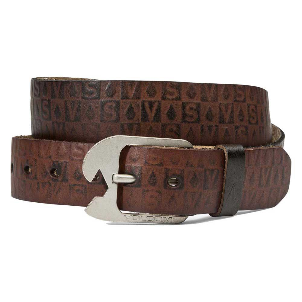 Volcom Stamp Leather Belt