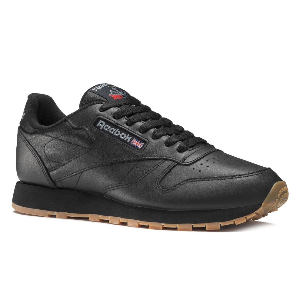 Sneakers Reebok-classics Classic Leather EU 37 1/2 Black / Gum
