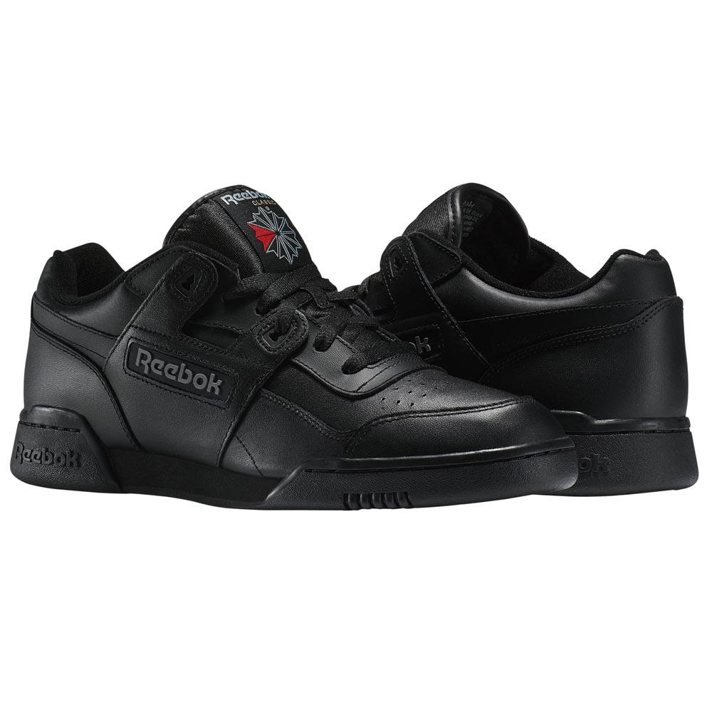 Reebok classics Workout Plus Black buy and offers on Dressinn d89f7f422