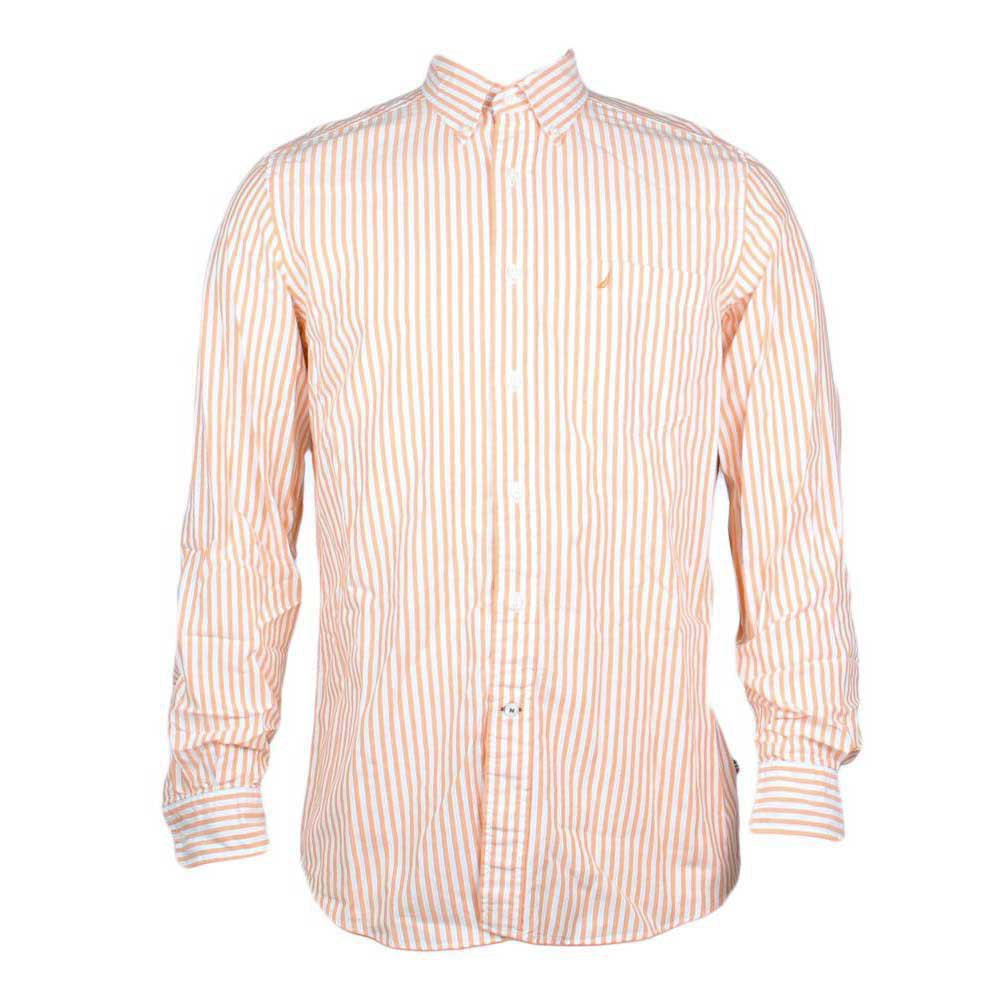 Nautica Ls Shirt Oxford Stripe