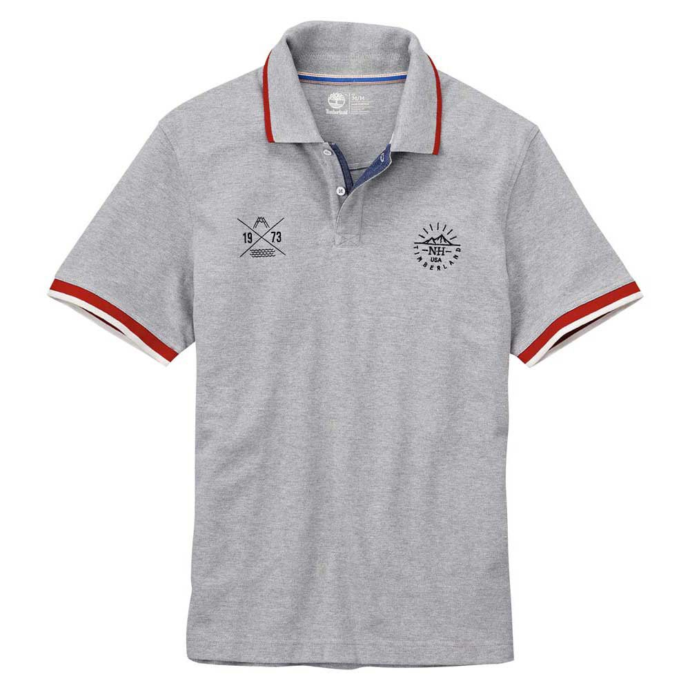 Timberland Ss Millers River Badge Polo