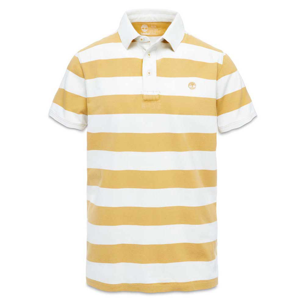 Timberland Ss Kennebec River Block Stripe Polo