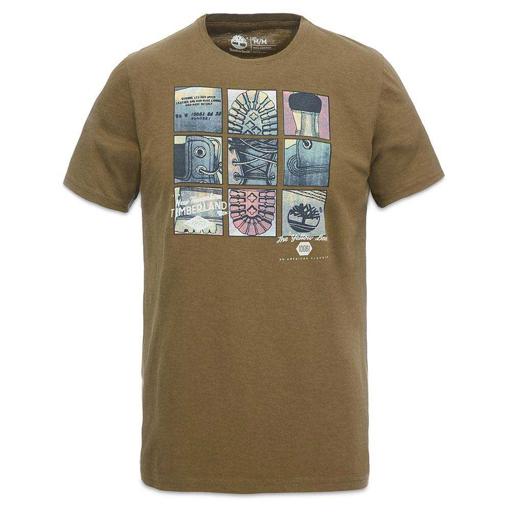 TIMBERLAND Ss Herring Riverr Boot Grid Tee